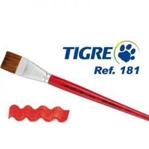 Pincel Tigre Orelha de Boi para desenho realista a lápis