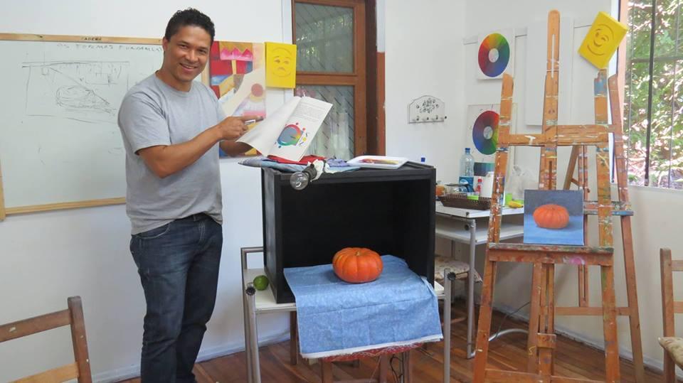 Marcos Damascena curso de pintura